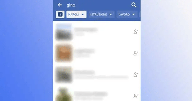 Facebook: how to search for people by location