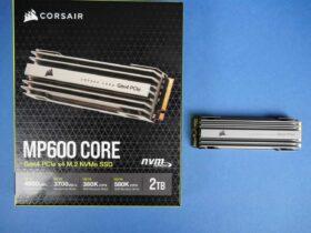 Corsair MP600 CORE M.2 Review: Amazing NVMe