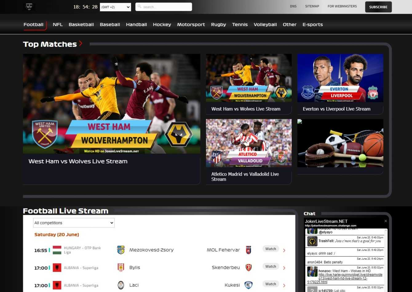 Best free football streaming sites |  March 2021