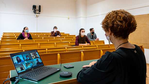 Logitech: collaboration with the University of Trieste for the DaD