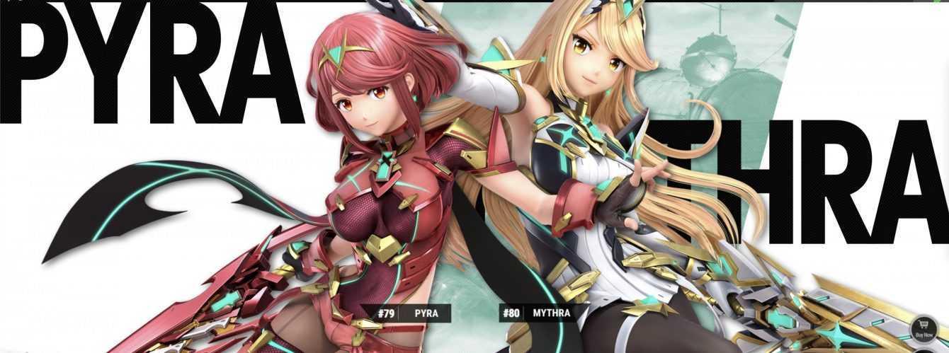 Super Smash Bros.  Ultimate: Sakurai presenta Pyra e Mythra