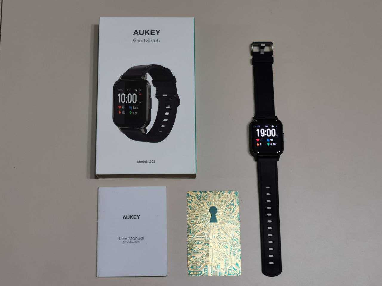 Aukey Smartwatch LS02 review: precise and low cost