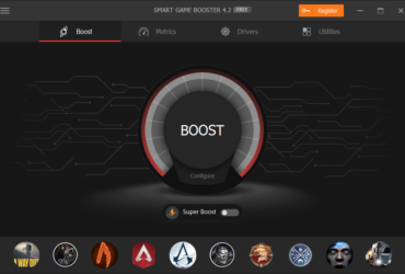 Smart Game Booster Review: Game Boost, CPU and GPU overclocking, monitoring