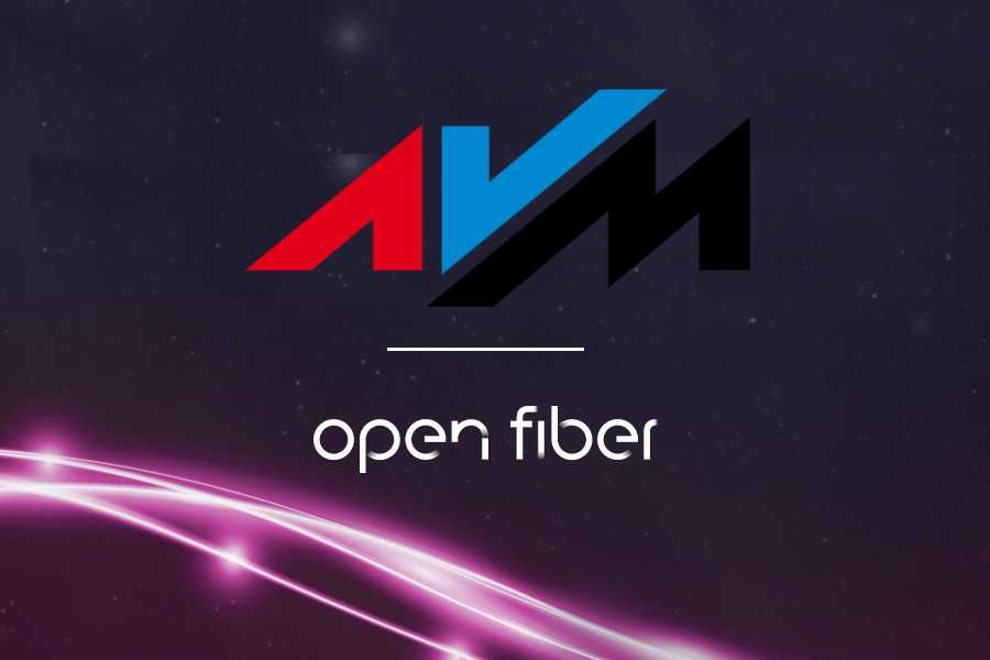 AVM and Open Fiber: together to offer ultra-fast connections