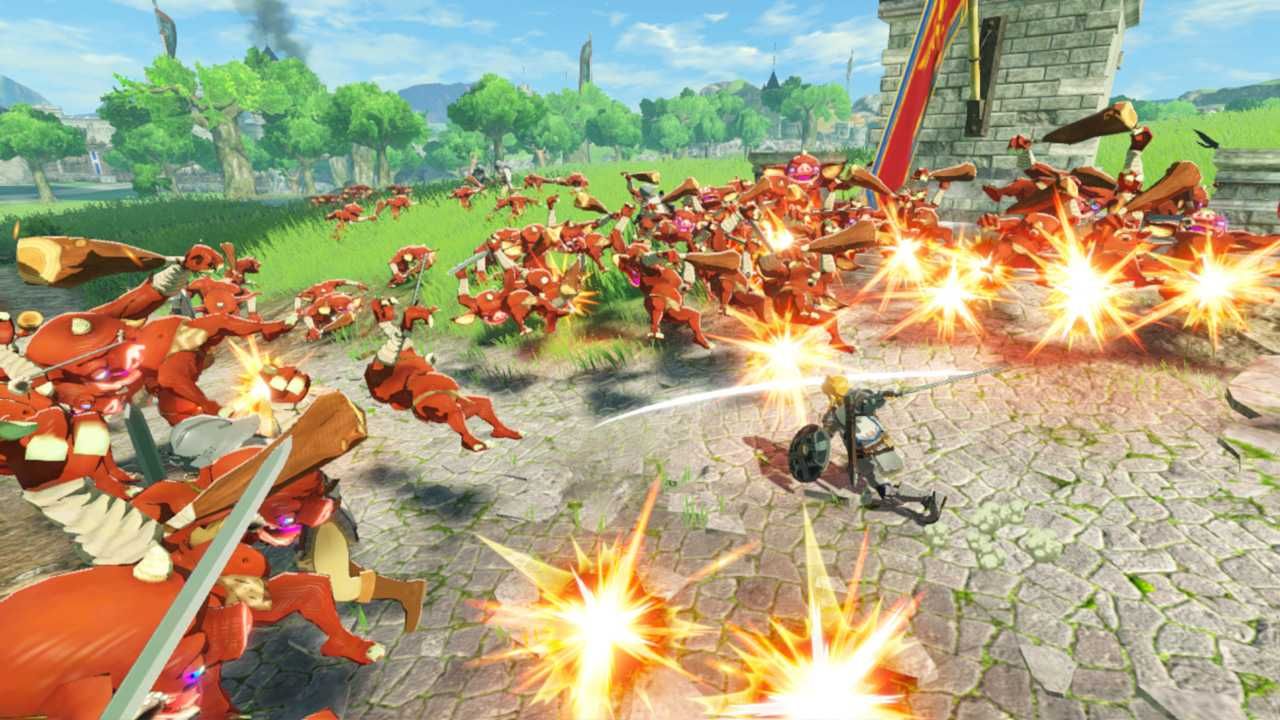 Preview Hyrule Warriors: Age of Calamity, a journey through time