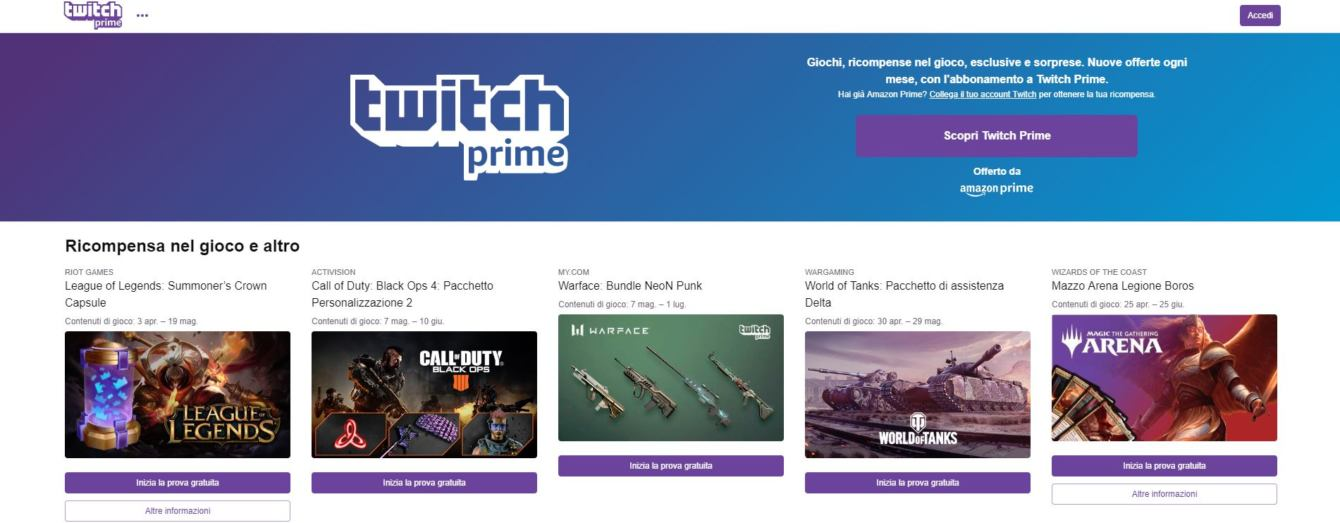 How to get Twitch Prime |  March 2021