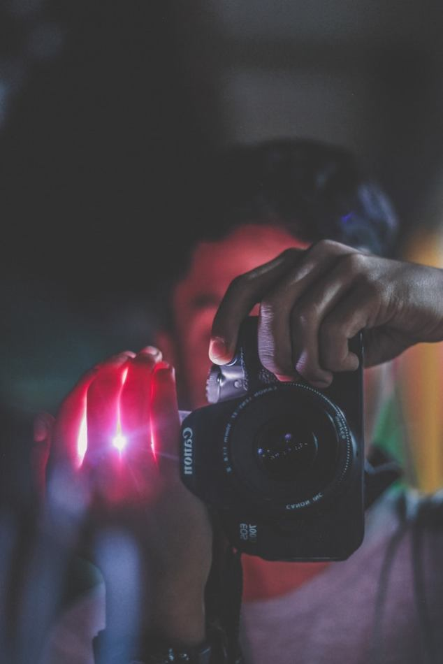 Low cost photography: photographic filters and various effects