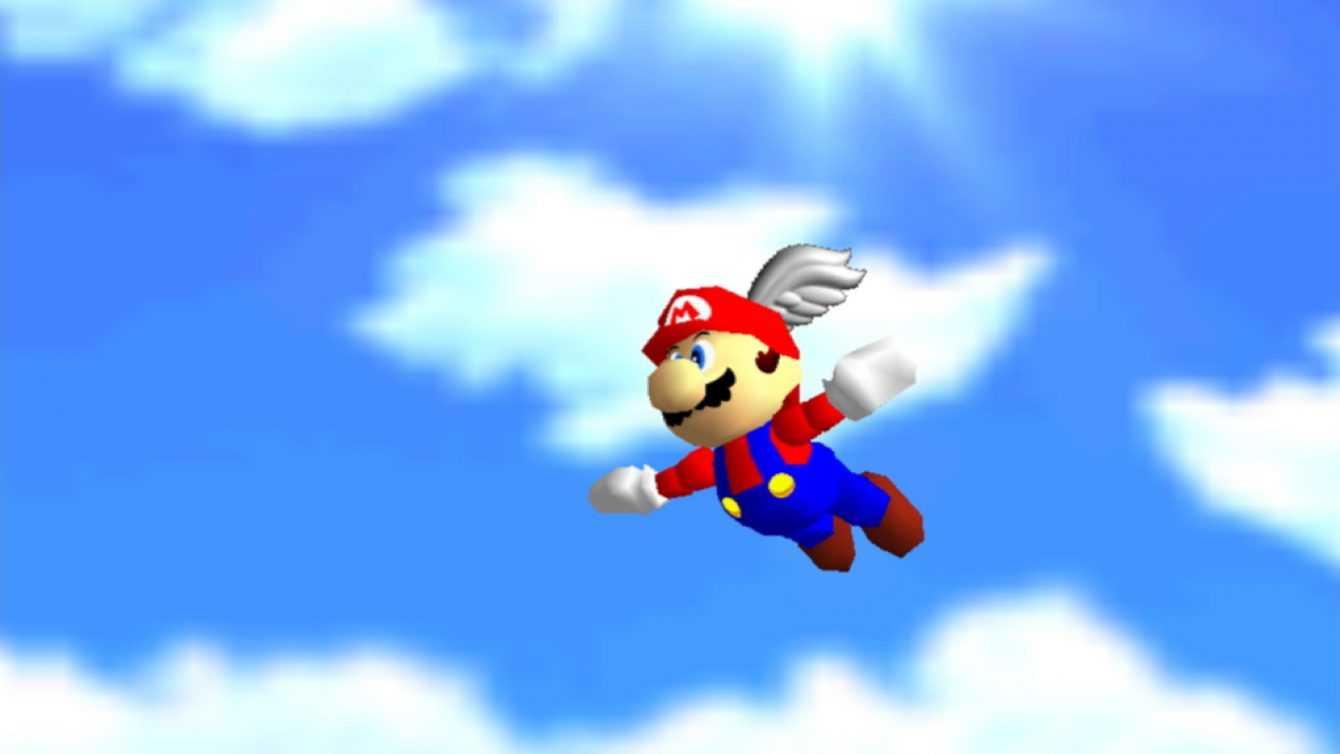 "Retrogaming: Super Mario 64, ""It's - A Me, Mario""!"