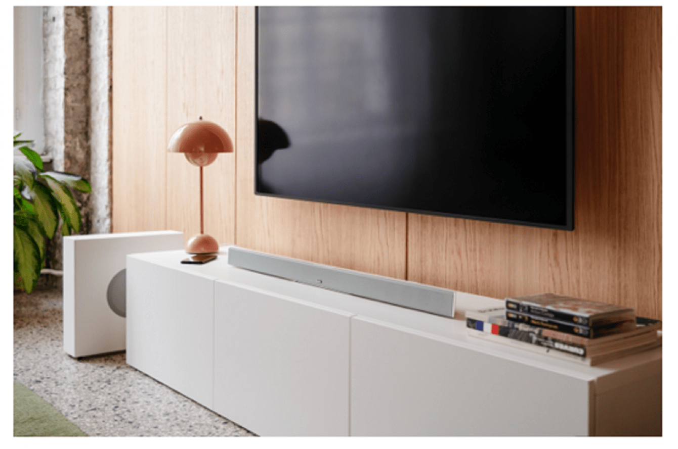 Teufel presents the new CINEBAR 11: the elegant, powerful and expandable soundbar