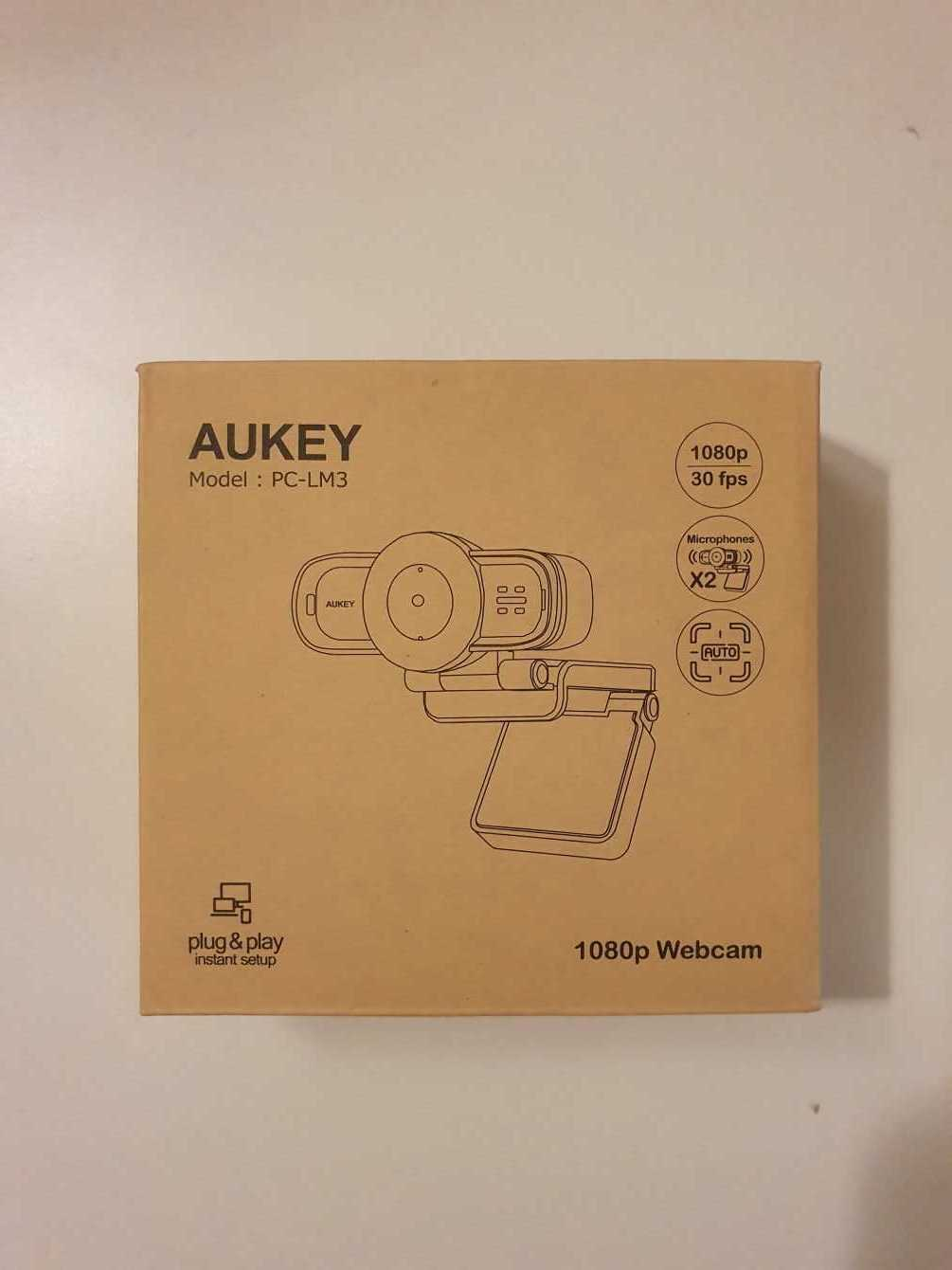 (Updated) Aukey PC-LM3 Review: Full-HD Webcam
