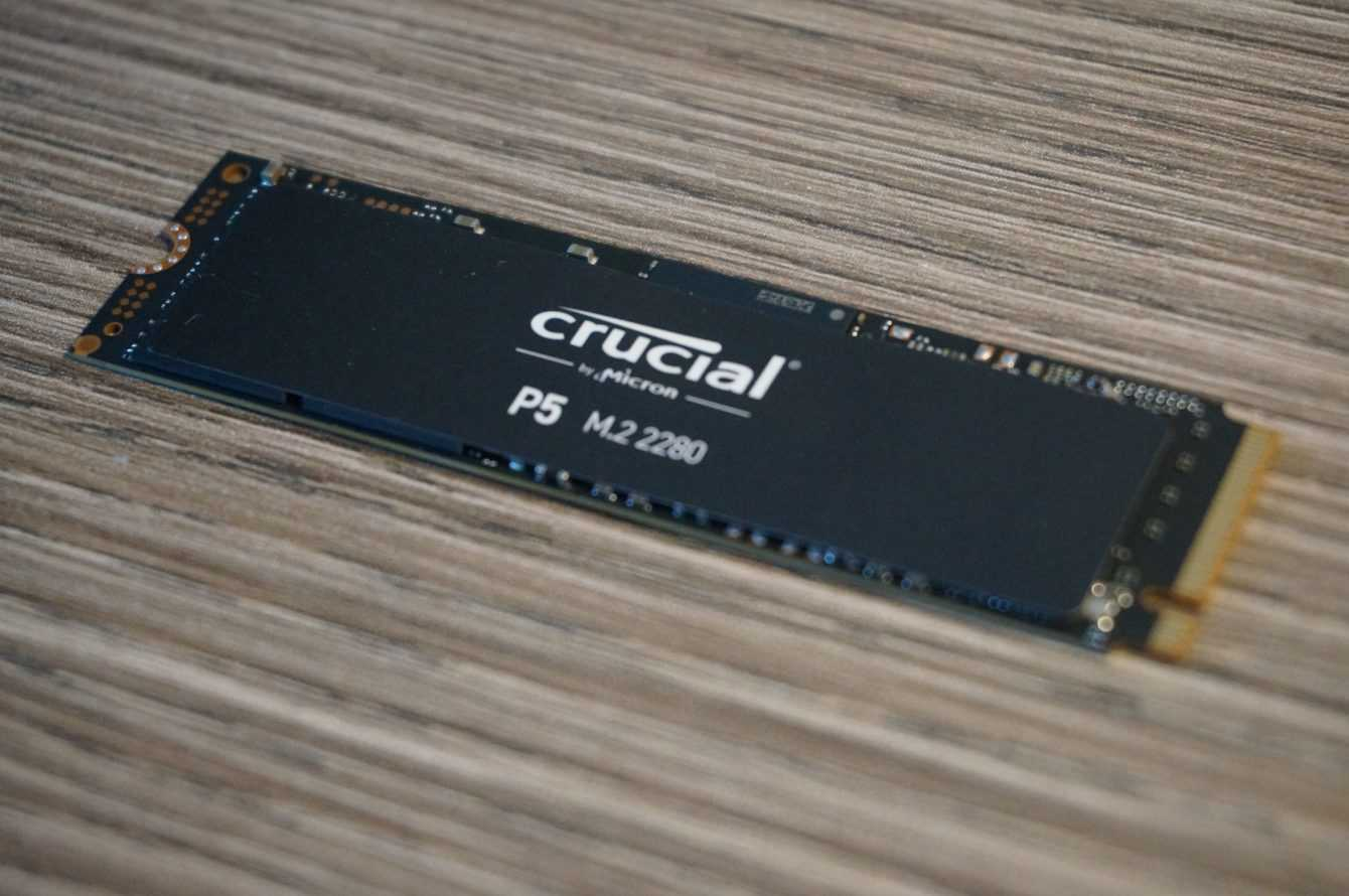 Crucial P5 review: NVMe at maximum power