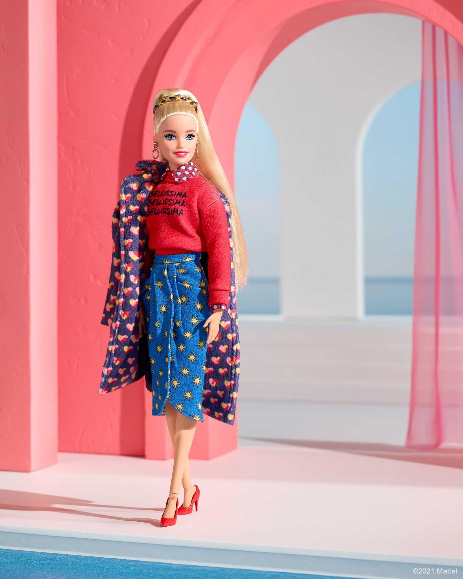 Alessandro Enriquez wears Barbie for Milan Fashion Week