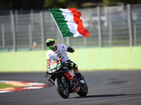 Lorenzo Savadori makes his MotoGP debut with Aprilia