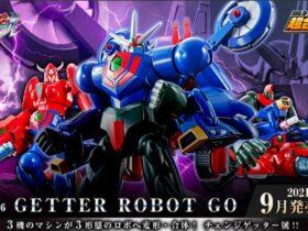 Bandai: al via i preorder per Soul Of Chogokin 96 Getter Robot Go