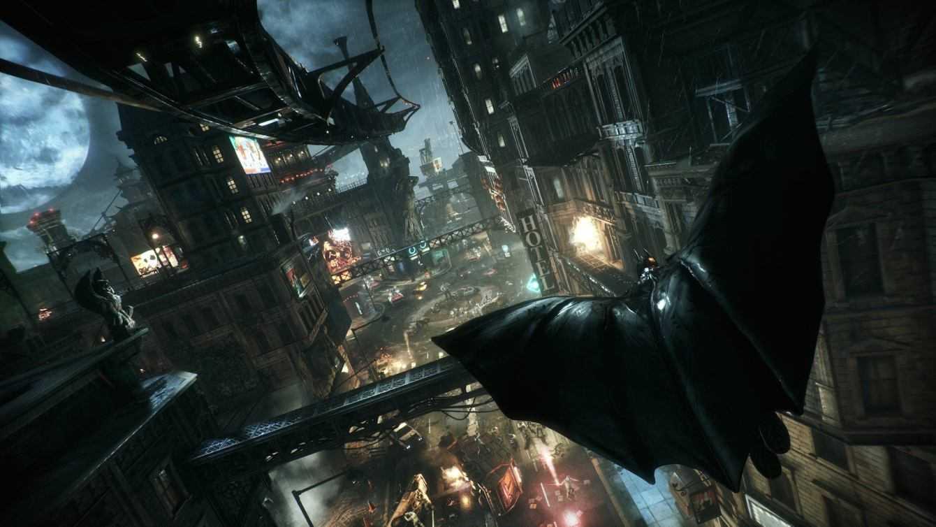 Batman Arkham City: A surprise update is available