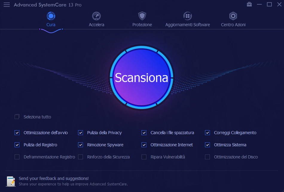 Advanced SystemCare 13 PRO review: the speed of IObit