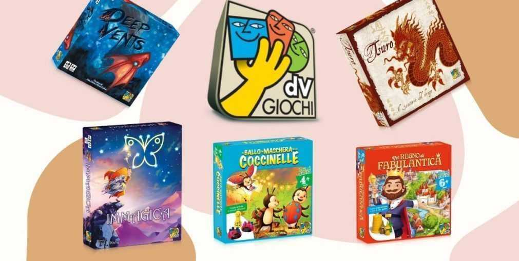 Best news of the dV Giochi: new releases 2020/2021