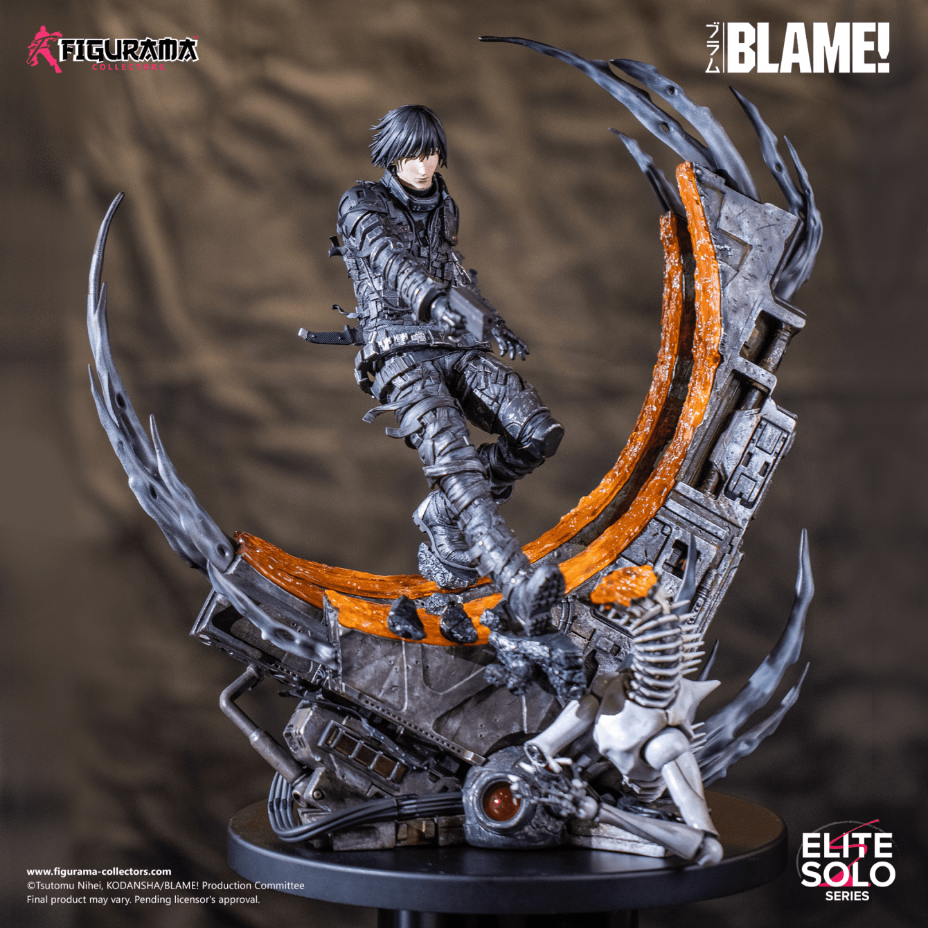 Blame!  Killy Elite Solo Statue: Preorders open on March 27th