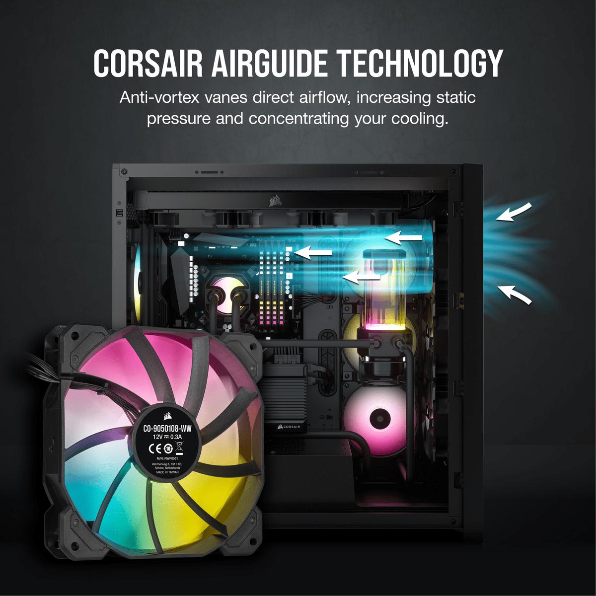 CORSAIR SP RGB ELITE Series: beauty and efficiency