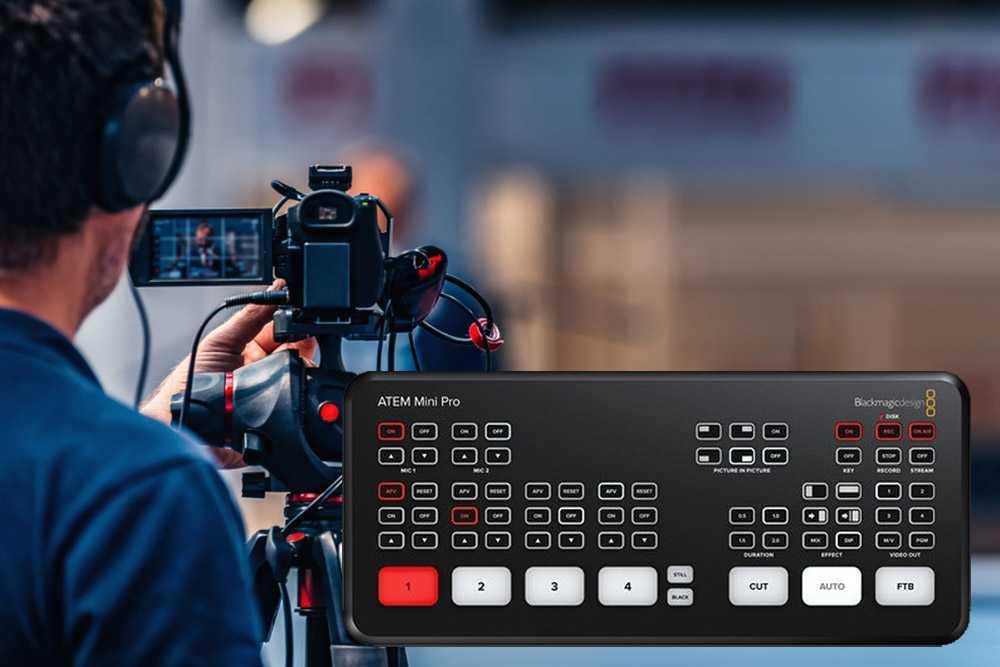 Control console: good reasons to choose Blackmagic ATEM Mini Pro