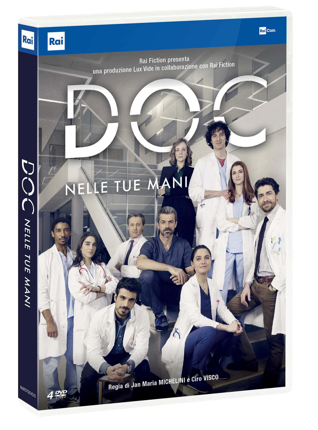 DVD box set review: Doc - In your hands, the Rai series with Argentero