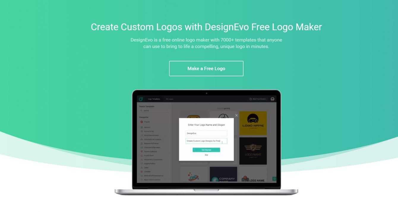 DesignEvo Free Logo Maker  Logos for everyone