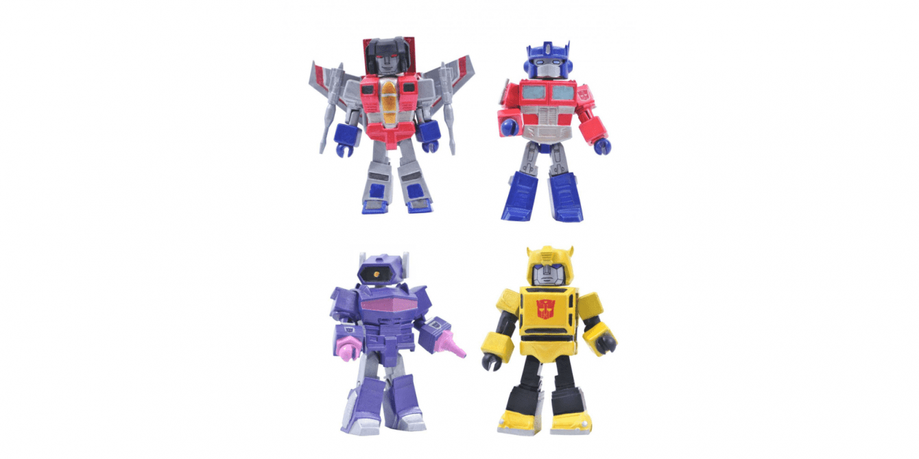 Diamond Select Toys and Hasbro together for a new collaboration