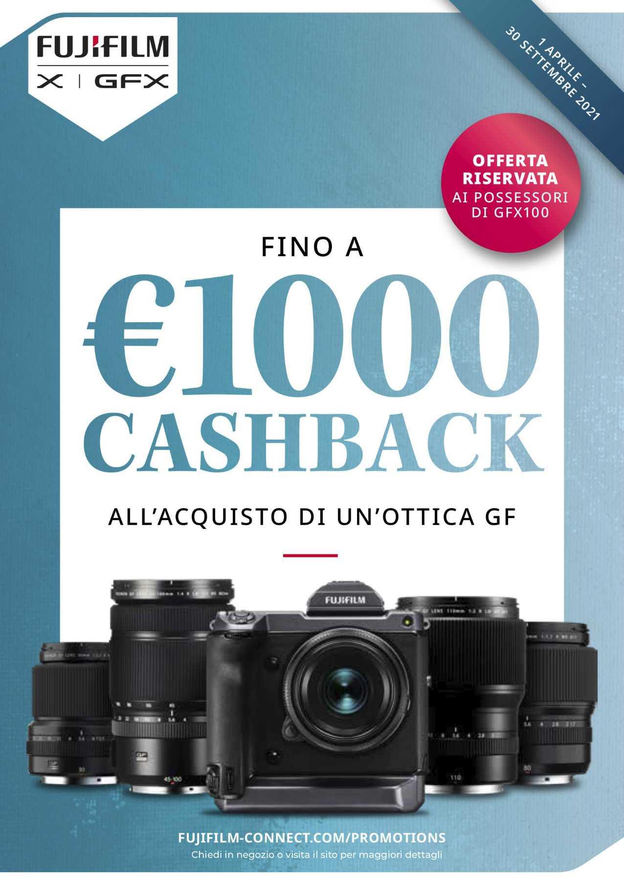 FUJIFILM Cashback GF optics: many Spring discounts!