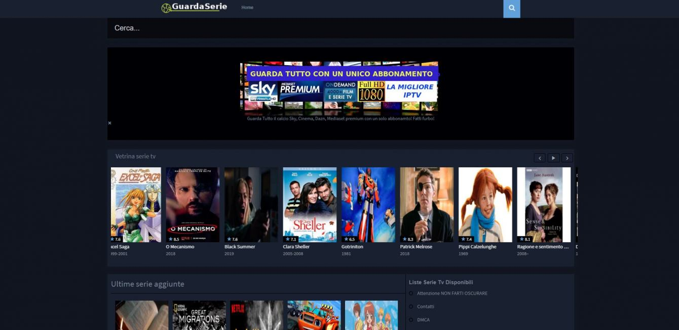 Free streaming TV series: sites without registration |  March 2021