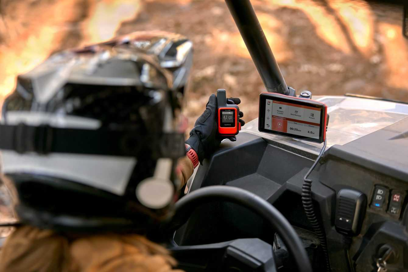GARMIN: Tread, Powerswitch and BC 40 for off-road riding