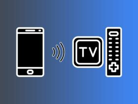 How to connect the smartphone to the TV