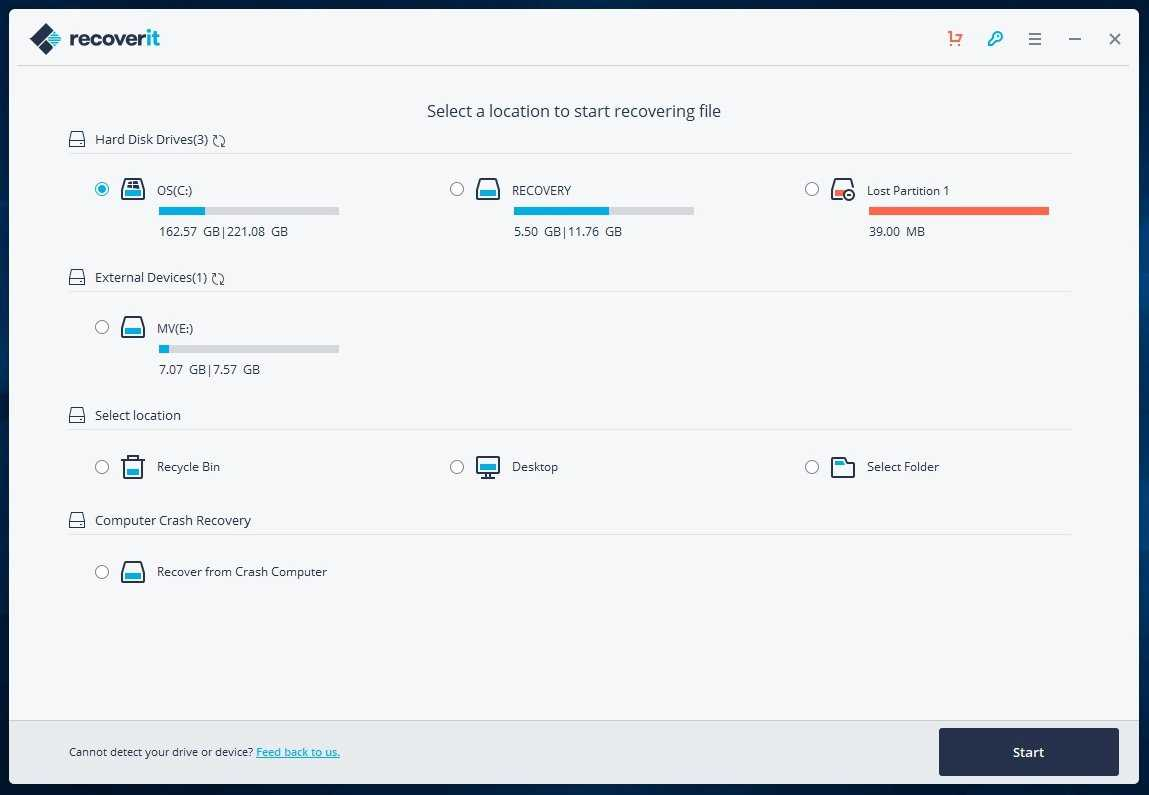 How to recover data from corrupted cards and keys