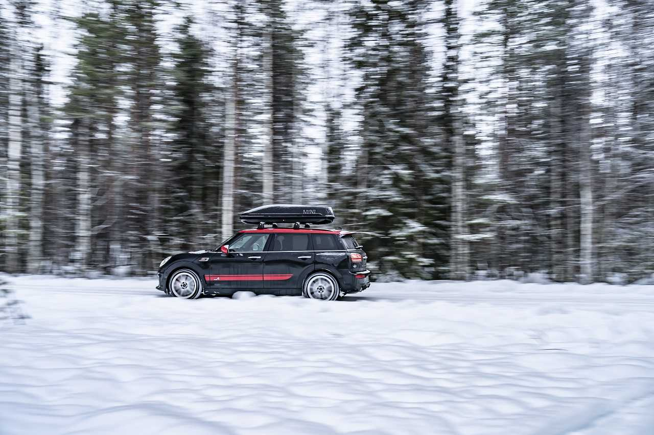 In Lapland in the MINI John Cooper Works Clubman