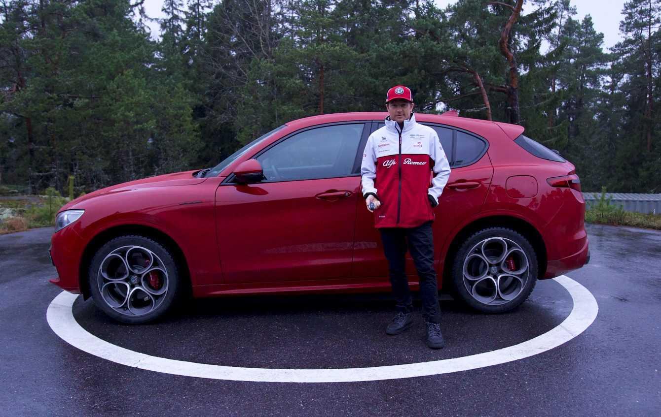 Kimi Räikkönen chooses Stelvio for his life away from the circuits
