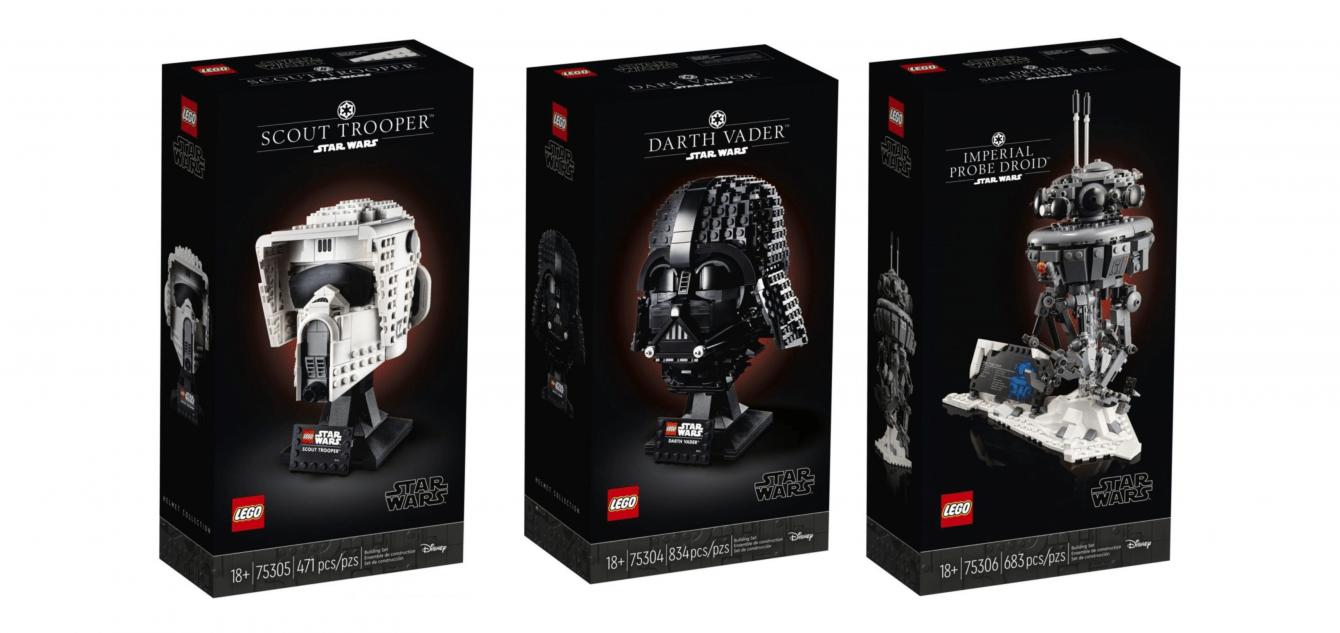 LEGO Star Wars: three new sets revealed!