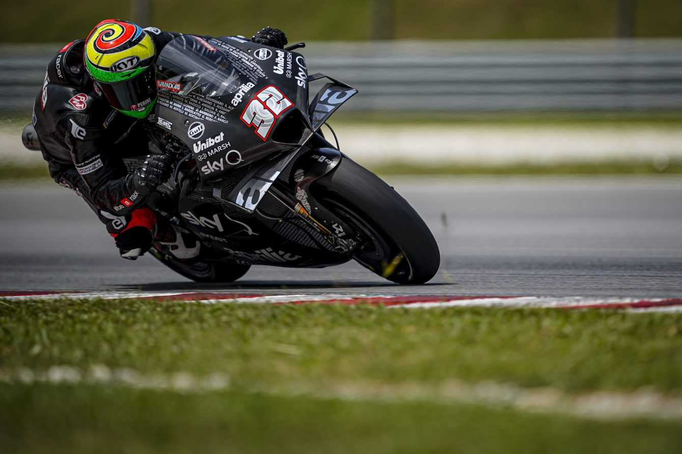 Lorenzo Savadori makes his MotoGP debut with Aprilia
