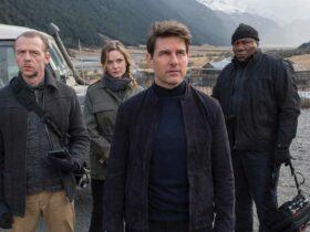 Mission: Impossible 7, Simon Pegg in una foto dal set
