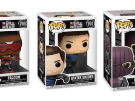 New Funko POPs revealed!  dedicated to The Falcon and the Winter Soldier