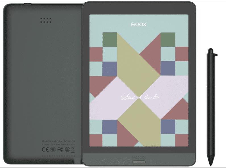 Onyx Boox Nova3 Color: officially announced