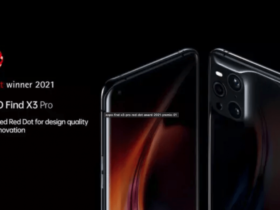 Oppo Find X3 Pro: design wins the RED DOT AWARD 2021