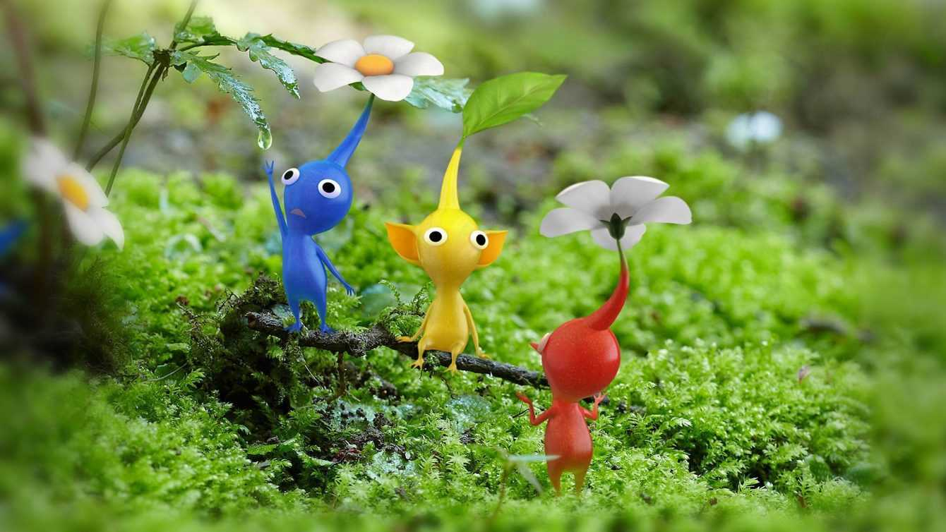 Pikmin augmented reality mobile app announced