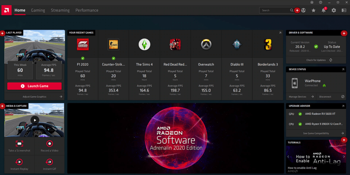 Radeon Software Adrenalin 21.2.2: numerous fixes from AMD