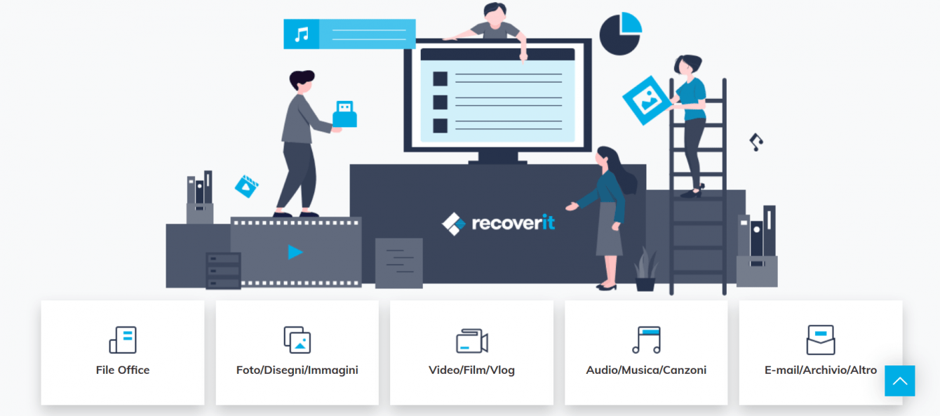 Recoverit: recover lost or deleted data from PC, SD and hard disk