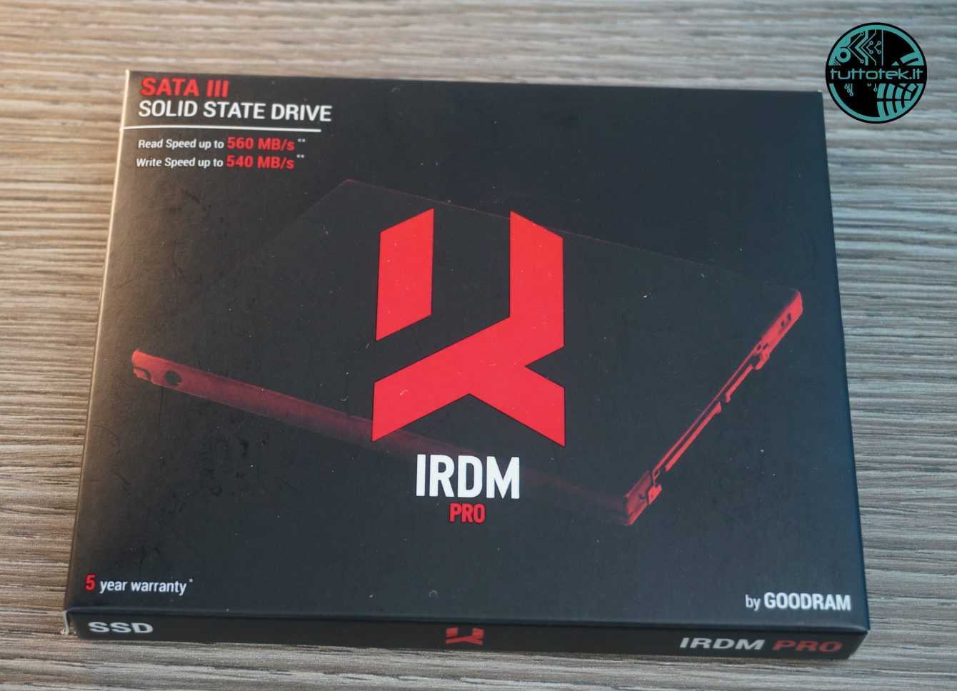 SSD Review GOODRAM IRDM PRO gen.2: granite memory