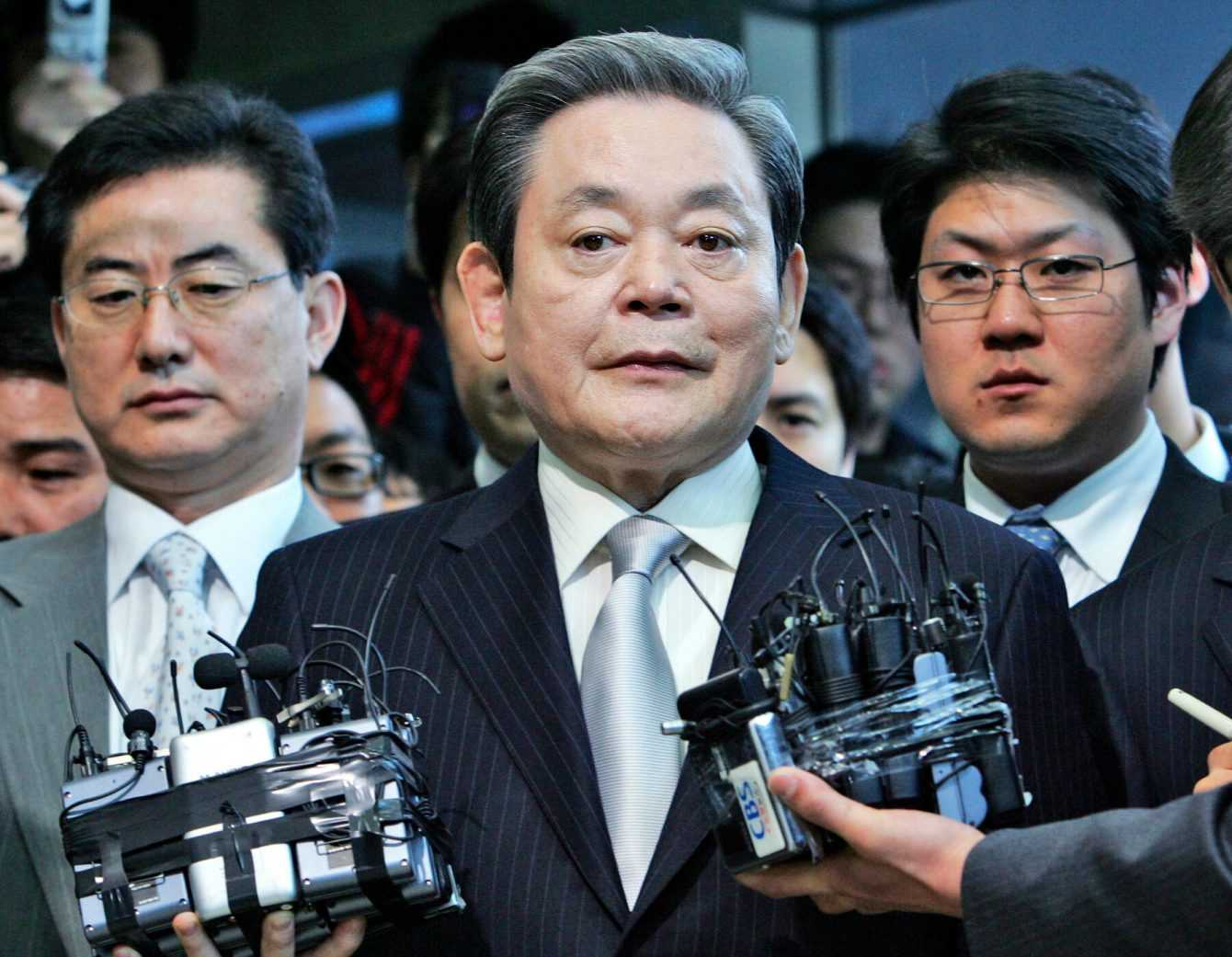 Samsung: President Lee Kun-Hee dies