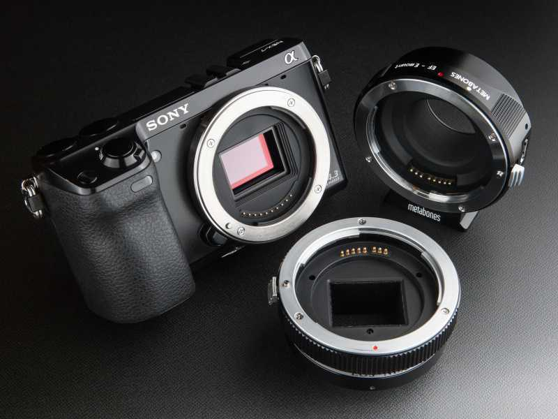 Sony E-mount: Best Canon Adapters    March 2021