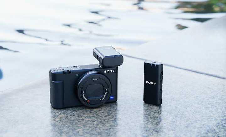 Sony: new ECM microphones for video