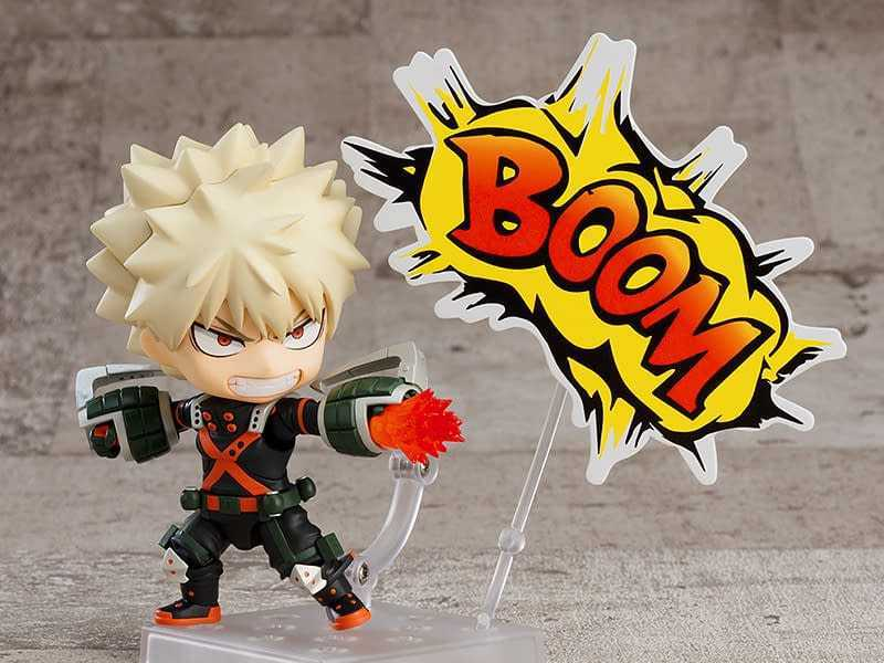 The Bakugo figure is coming with the winter costume from the Nendoroid series!