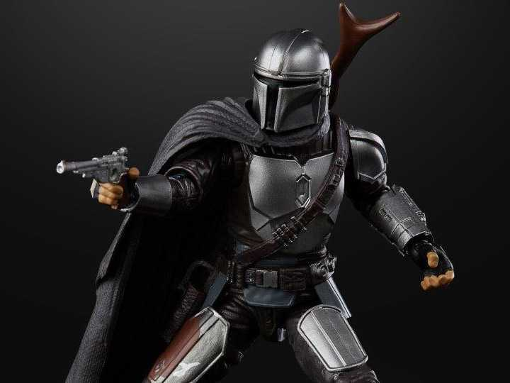 The Mandalorian: l'action figure Black Series (Beskar) è disponibile!