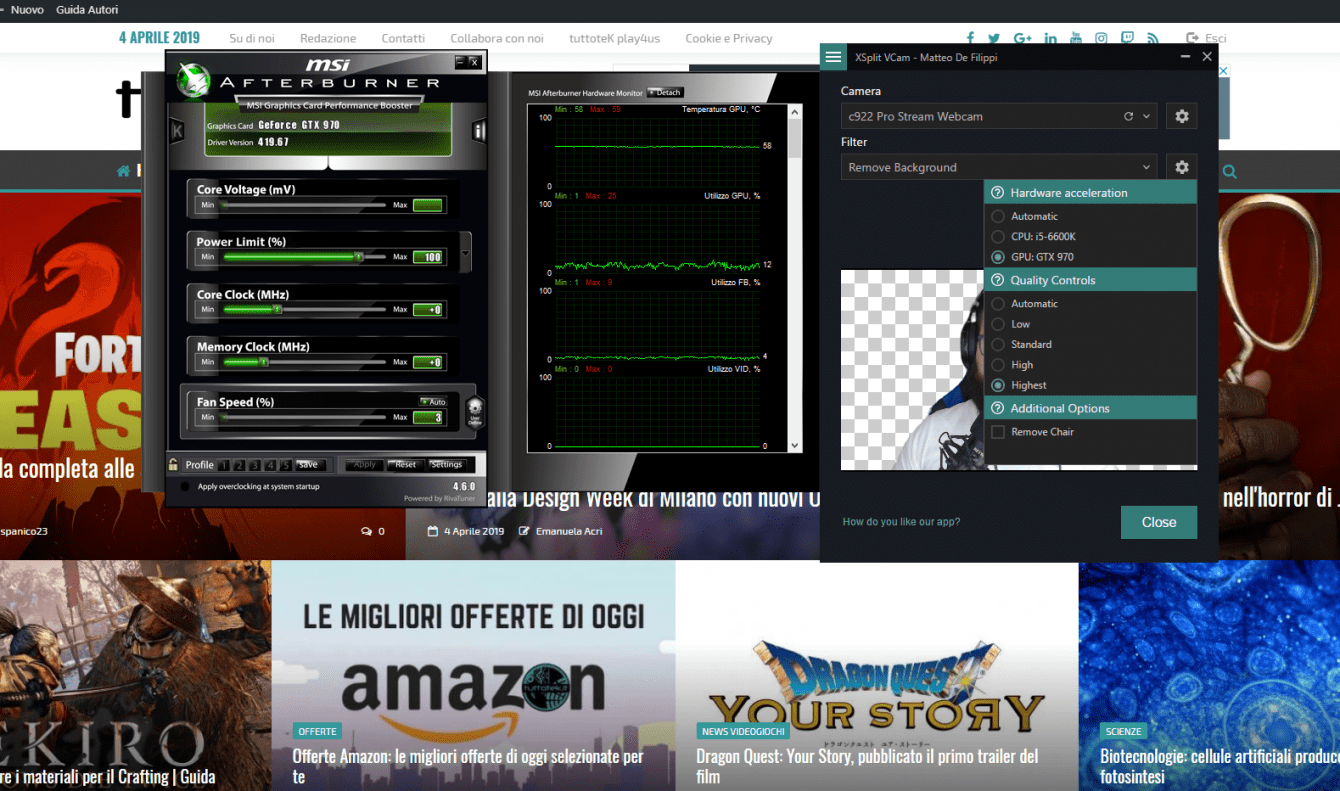 XSplit VCam review: goodbye green screen